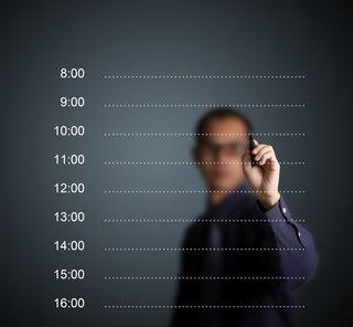 CALENDAR time blocking shutterstock_99234215