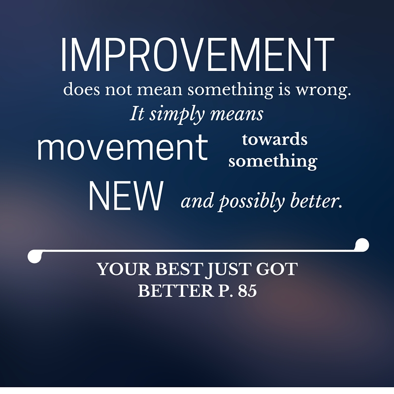 Improvement leads to new page 85