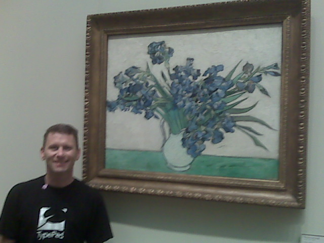 ...with Vincent van Gogh - @ The Metropolitan Museum
